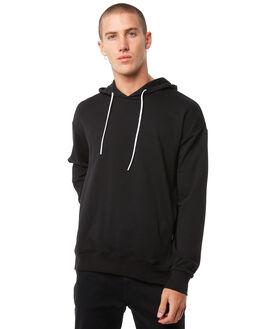 BLACK WHITE MENS CLOTHING ZANEROBE JUMPERS - 408-PREBLK
