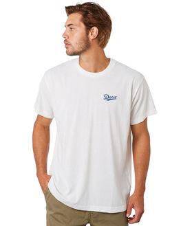 VINTAGE WHITE MENS CLOTHING DEUS EX MACHINA TEES - DMS91274VNWHITE
