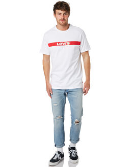 WHITE MENS CLOTHING LEVI'S TEES - 69978-0005
