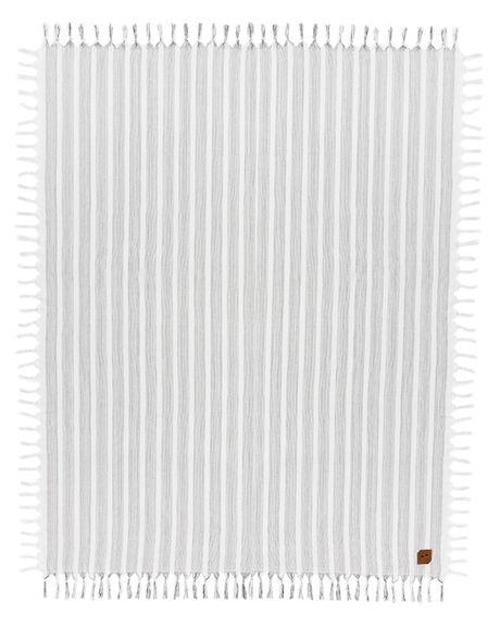 WHITE MENS ACCESSORIES SLOWTIDE TOWELS - ST310WHT