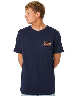 NAVY MENS CLOTHING RIP CURL TEES - CTESV20049