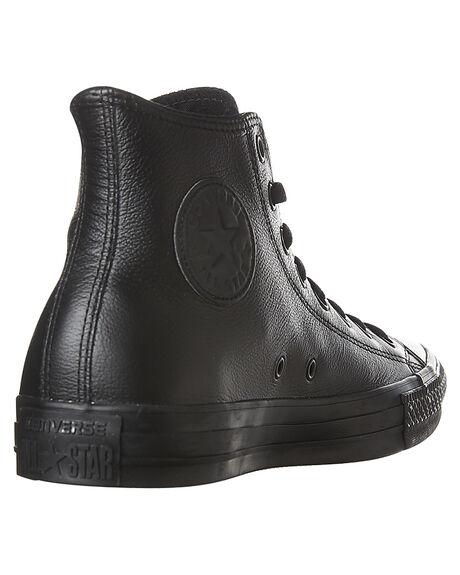 BLACK MONOCHROME MENS FOOTWEAR CONVERSE SNEAKERS - SS135251BLKMOM