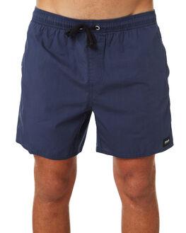 ALOHA WARP DEEP NAVY MENS CLOTHING AFENDS BOARDSHORTS - M183351DNAVY