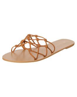 TAN NUBUCK WOMENS FOOTWEAR BILLINI FASHION SANDALS - S625TANNU