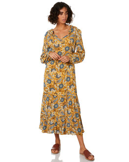 CITRON WOMENS CLOTHING THE HIDDEN WAY DRESSES - H8201441CITRN