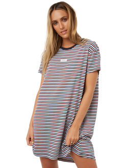 RED WOMENS CLOTHING RVCA DRESSES - R283753RED