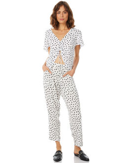 APACHE WHITE WOMENS CLOTHING RUE STIIC PANTS - SA18-2-PW-FWHT