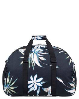 BLACK FLOWERS WOMENS ACCESSORIES ROXY BAGS + BACKPACKS - ERJBL03158KVJ8