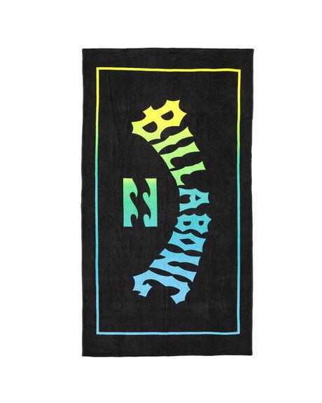 BLACK MENS ACCESSORIES BILLABONG TOWELS - BB-9607700-BLK