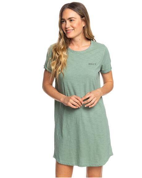 LILY PAD WOMENS CLOTHING ROXY DRESSES - ERJKD03231-GJN0