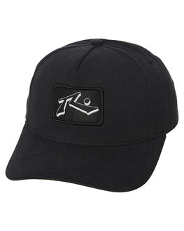 BLACK KIDS BOYS RUSTY HEADWEAR - HCB0338BLK