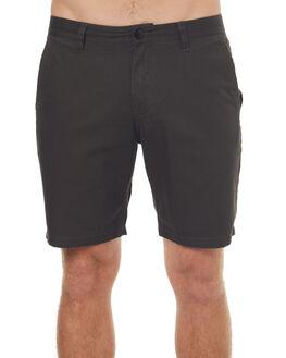 BLACK MENS CLOTHING KATIN SHORTS - WSCOVS17BLK