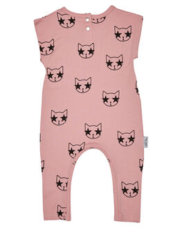 PINK KIDS BABY TINY TRIBE CLOTHING - TTS17-6018CPNK