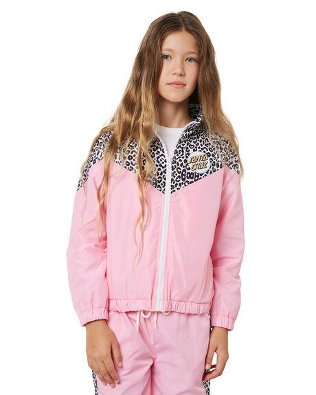 PINK KIDS GIRLS SANTA CRUZ JUMPERS + JACKETS - SC-GJA1404PNK