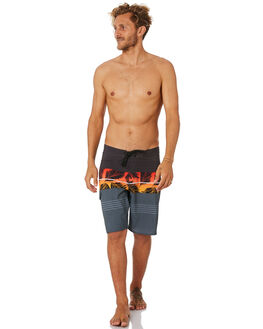 BLACK RED MENS CLOTHING RIP CURL BOARDSHORTS - CBORO14019