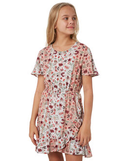 WHITE GYPSY PRINT KIDS GIRLS EVES SISTER DRESSES + PLAYSUITS - 9540025WTGPS