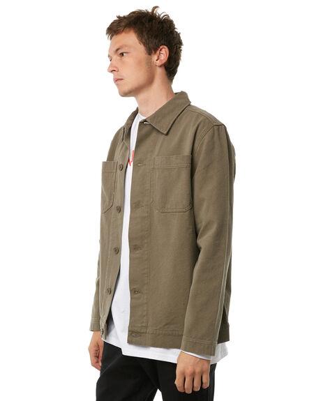 OLIVE MENS CLOTHING HUFFER JACKETS - MJA81S330OLIVE