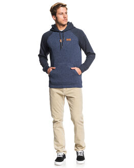 BLUE NIGHTS HEATHER MENS CLOTHING QUIKSILVER JUMPERS - EQYFT04012-BSTH