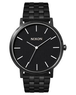 ALL BLACK WHITE MENS ACCESSORIES NIXON WATCHES - A1057756