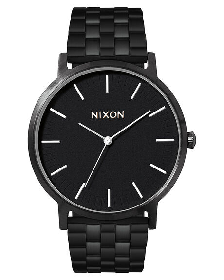 ALL BLACK WHITE MENS ACCESSORIES NIXON WATCHES - A1057756