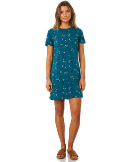 GARDEN PRINT WOMENS CLOTHING ALL ABOUT EVE DRESSES - 6403102PRNT