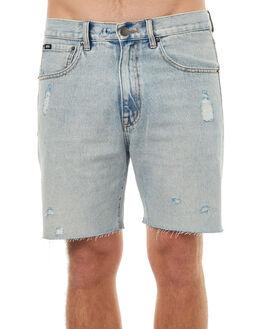 VINTAGE BLUE MENS CLOTHING RPM SHORTS - 7SMB07BVIBLU