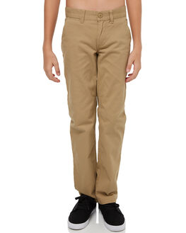KHAKI KIDS BOYS DC SHOES PANTS - EDBNP03019CLM0