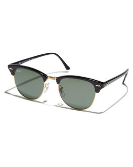 3a3f6646473 BLACK MENS ACCESSORIES RAY-BAN SUNGLASSES - 0RB3016BLK