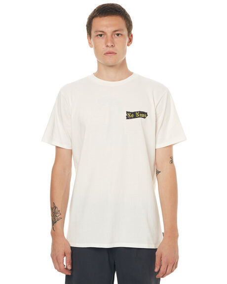 NOT WHITE MENS CLOTHING NO NEWS TEES - N5171007NOTWH