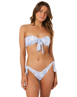 LIGHT BLUE WOMENS SWIMWEAR RIP CURL BIKINI BOTTOMS - GSIAT21080