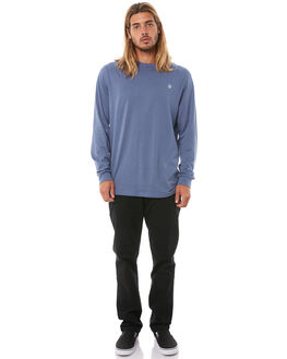 DEEP BLUE MENS CLOTHING VOLCOM TEES - A3611676DPB