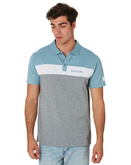 BLUE GREY MENS CLOTHING RIP CURL SHIRTS - CPLCQ11005