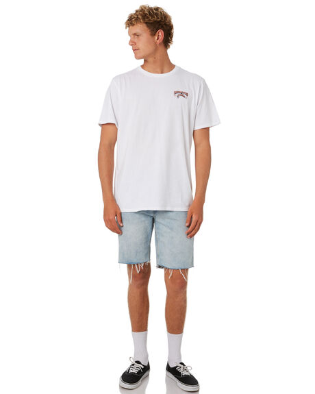 WHITE OUTLET MENS DEPACTUS TEES - D5201012WHITE