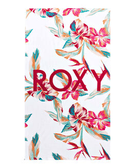 BRIGHT WHITE WOMENS ACCESSORIES ROXY TOWELS - ERJAA03692-WBB7