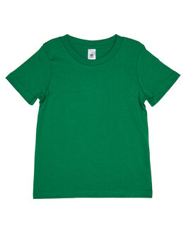 KELLY GREEN KIDS TODDLER BOYS AS COLOUR TOPS - 3005-KGRN