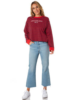 CAPOTE RED WOMENS CLOTHING LEVI'S TEES - 76167-00000000
