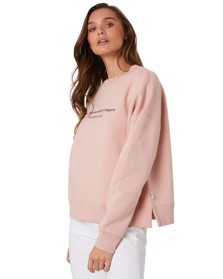BLUSH WOMENS CLOTHING RPM JUMPERS - 9WWT05B2BLUS