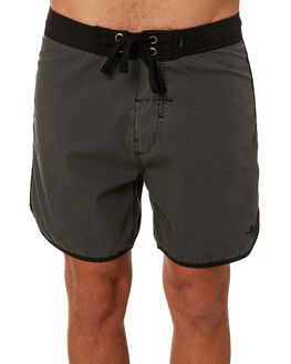 MERCH BLACK MENS CLOTHING THRILLS BOARDSHORTS - TS8-311MBMERBK
