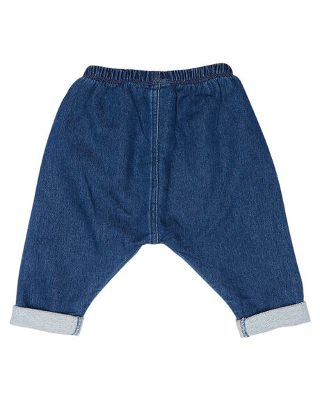 MID BLUE CHAMBRAY KIDS BABY BONDS CLOTHING - BXKPAMNH