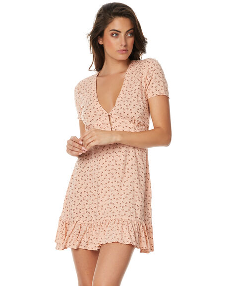 MUSK PINK WOMENS CLOTHING AUGUSTE DRESSES - AMG1-17606MPNK