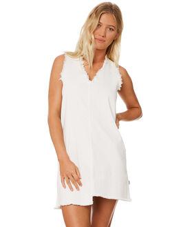 WHITE WOMENS CLOTHING RPM DRESSES - 8SWD03AWHT