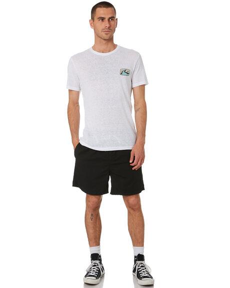 BRIGHT WHITE MENS CLOTHING RUSTY TEES - TTM2289BTW