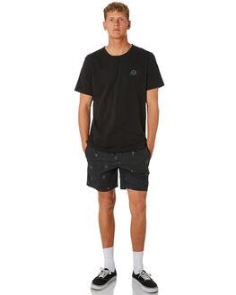 WASHED BLACK MENS CLOTHING GLOBE BOARDSHORTS - GB01918009WBLK