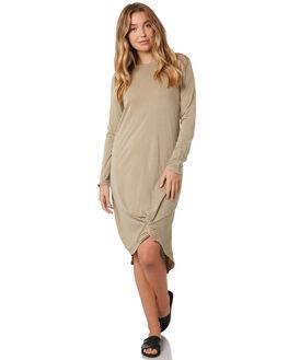 TAN WOMENS CLOTHING SILENT THEORY DRESSES - 6015011TAN