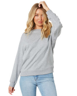 GREY MARLE WOMENS CLOTHING AS COLOUR JUMPERS - 4121GMRL