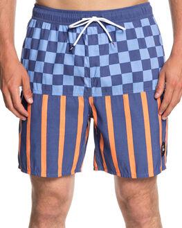 MEDIEVAL BLUE MENS CLOTHING QUIKSILVER SHORTS - EQYJV03380BTE6