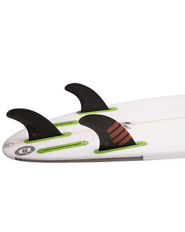 BLACK RED BOARDSPORTS SURF FUTURE FINS FINS - F04-011503BLKRD