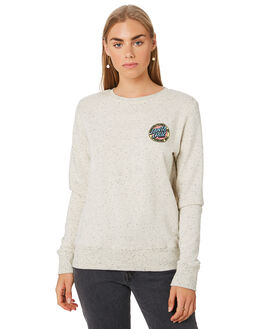 SPECKLE MARLE WOMENS CLOTHING SANTA CRUZ JUMPERS - SC-WFA0088SPMAR