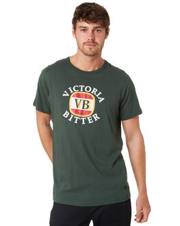 TRADE GREEN MENS CLOTHING ROLLAS TEES - 15527529