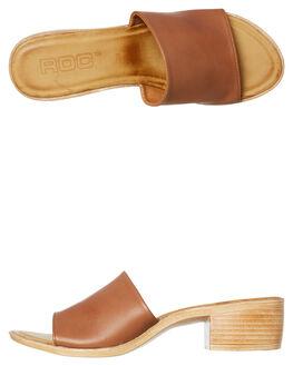 TAN WOMENS FOOTWEAR ROC BOOTS AUSTRALIA HEELS - MIATAN